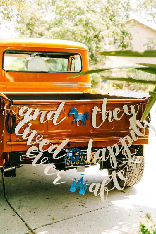 """Laura and John's """"Happily Ever After"""" At-Home Disney Wedding"""