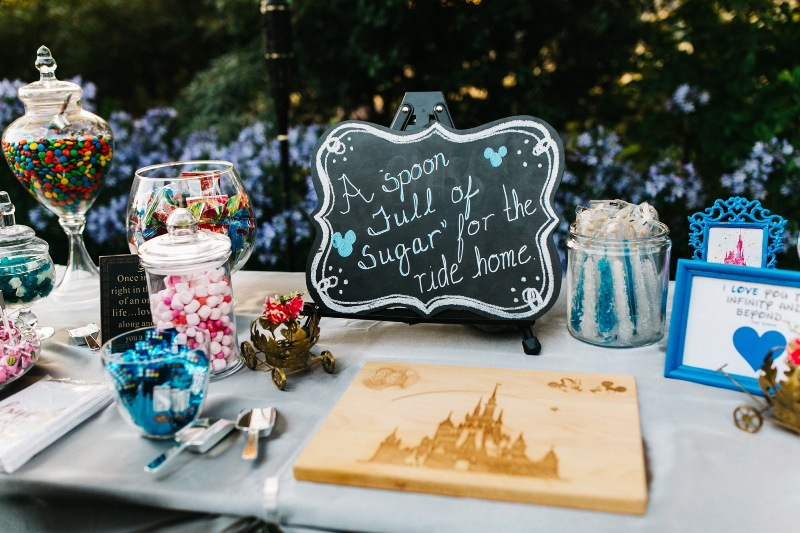 "Laura and John's ""Happily Ever After"" At-Home Disney Wedding"