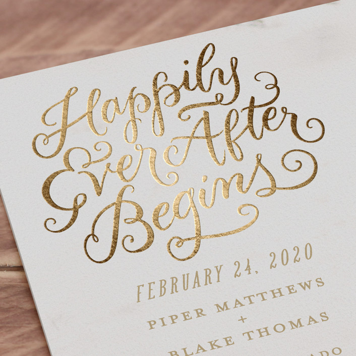Fairy Tale Themed Save the Date Cards