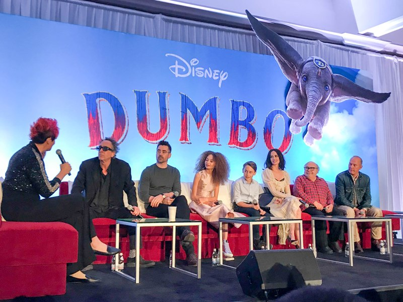 Interviews with the Cast and Creators of DUMBO