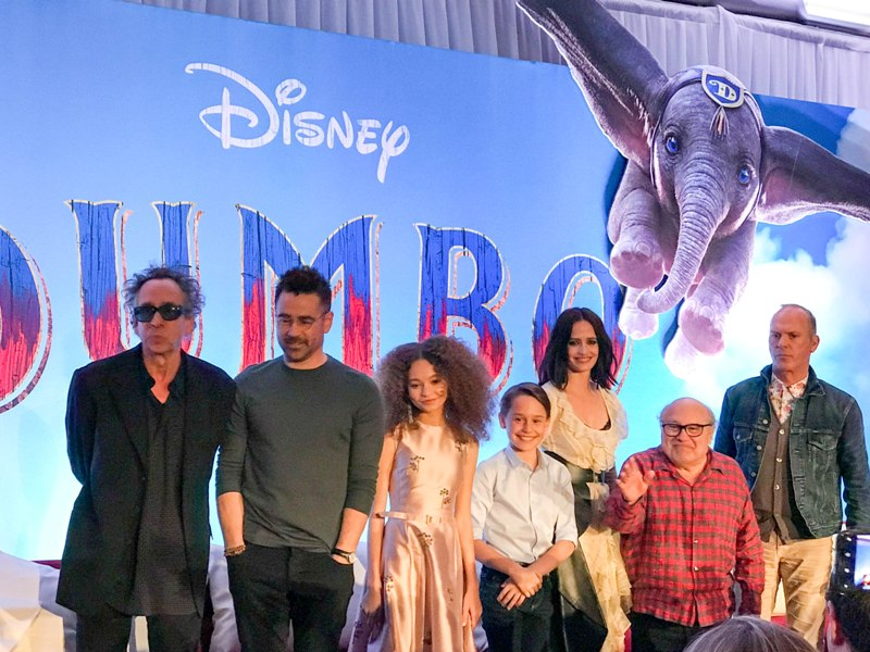 Interviews with the Cast and Crew of DUMBO