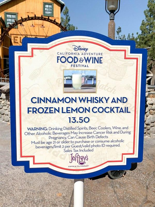 2019 Disney California Adventure Food and Wine Festival Guide
