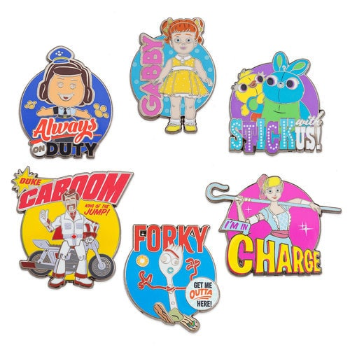 Toy Story 4 Pin Set - Limited Release