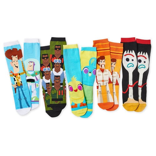 Toy Story 4 Sock Set for Adults - 5 Pack