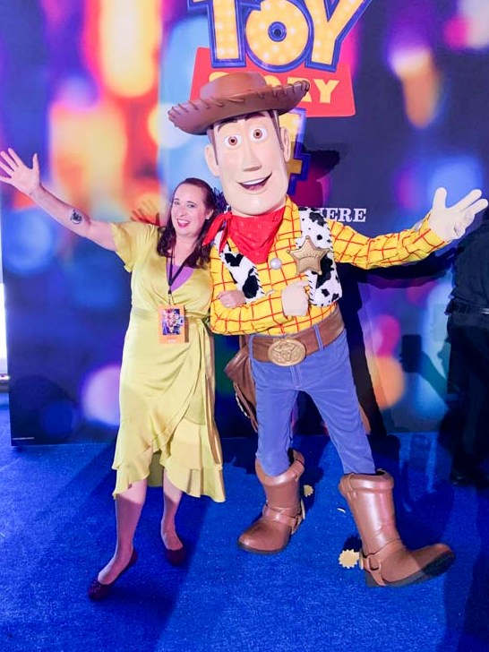 Walking the Red Carpet at the World Premiere of TOY STORY 4