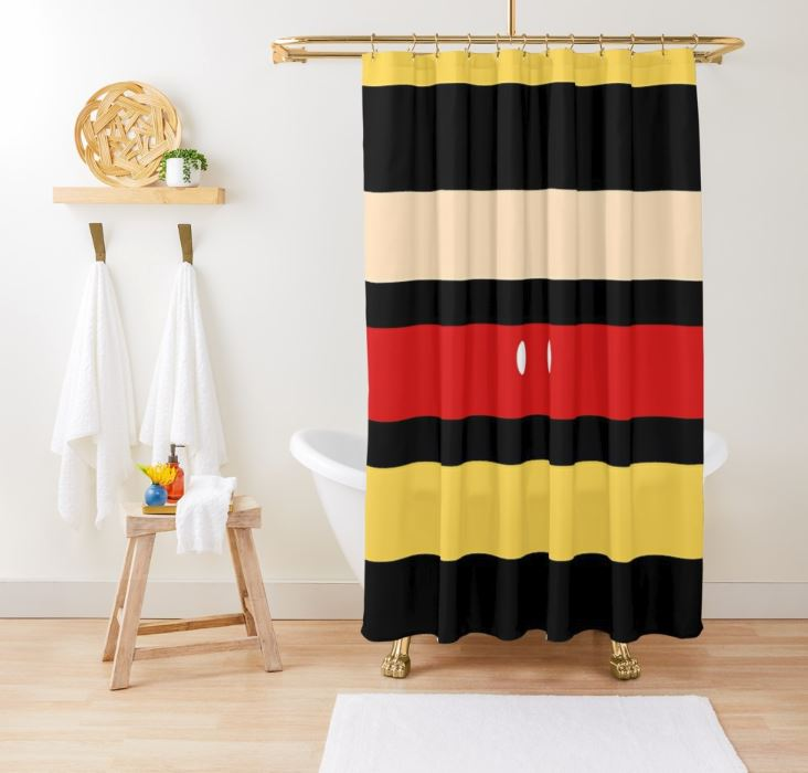 OH BOY! Ear Mouse Shower Curtain
