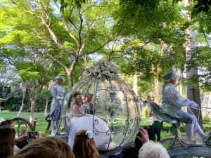"A True ""Guest"" Post - Ashley and Eric's Cinderella Themed Disneyland Wedding"