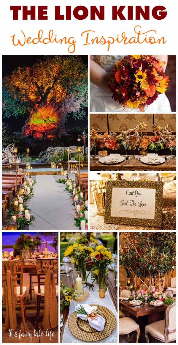 THE LION KING Wedding Inspiration