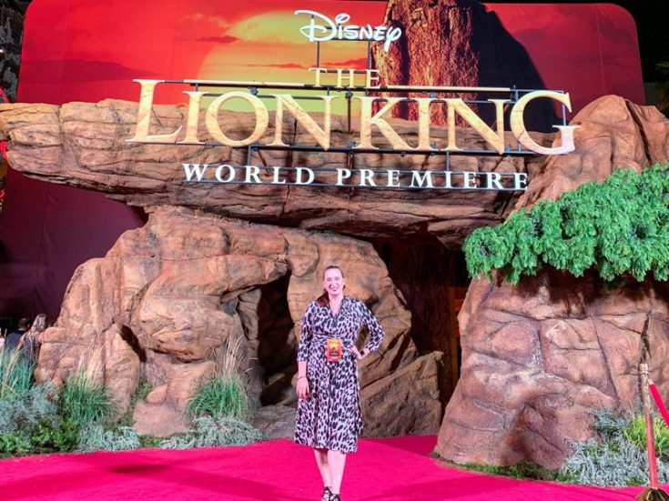 World Premiere of THE LION KING Movie