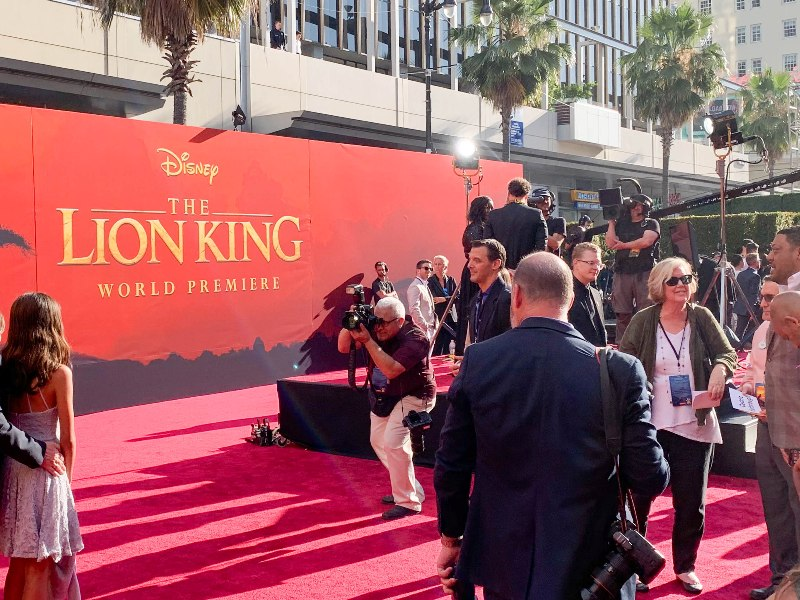 World Premiere of THE LION KING Live Action Movie