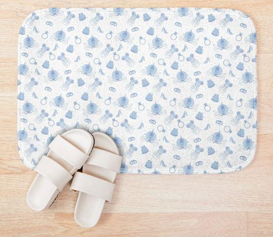 Magical Bride All Over Print - White Bath Mat