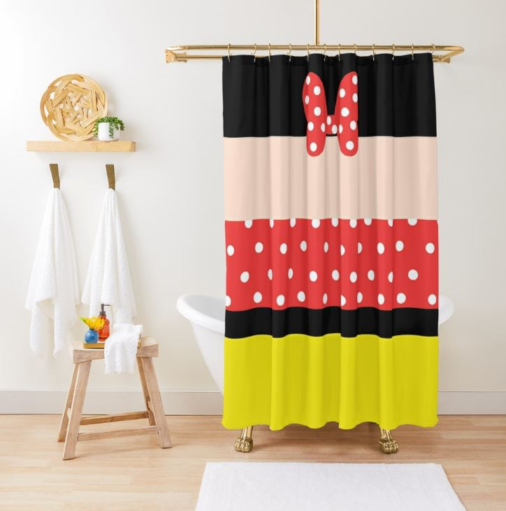 OH MY GOODNESS! Mini Mouse Shower Curtain