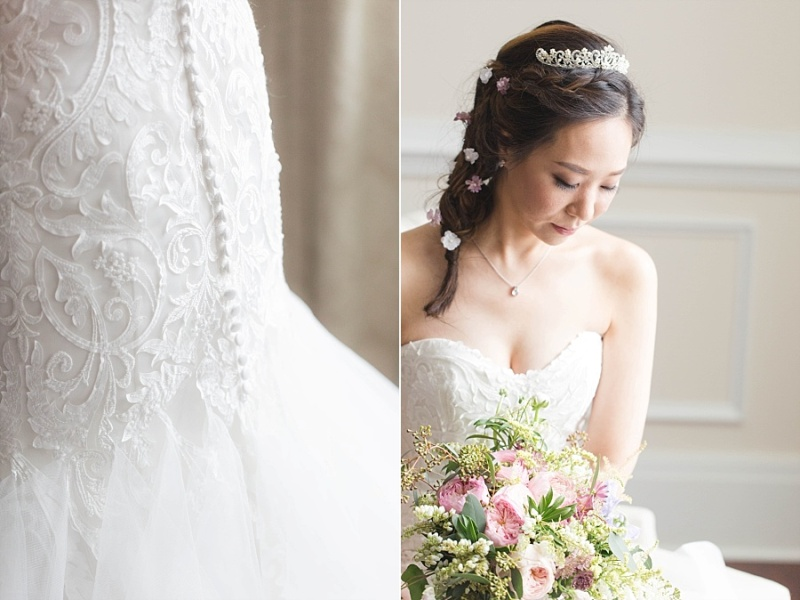 This Bride had THREE Disney Princess Outfit Changes!