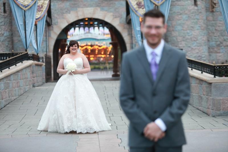 Beautiful Disney Themed Wedding at The Disneyland Hotel
