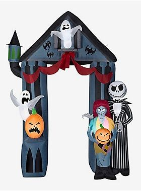 The Nightmare Before Christmas Archway Airblown