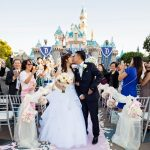 Sleeping Beauty Castle Wedding at Disneyland