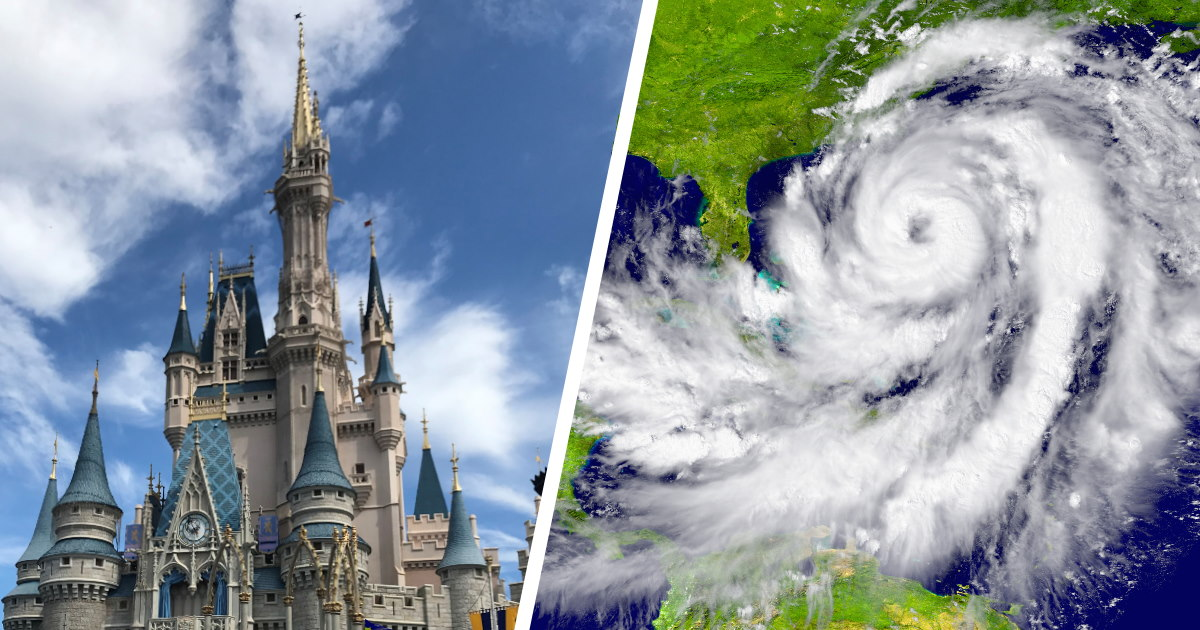 What It's Like at Walt Disney World During a Hurricane
