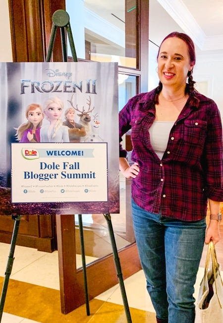 Creating Healthy FROZEN 2 Meals in the Dole Test Kitchen