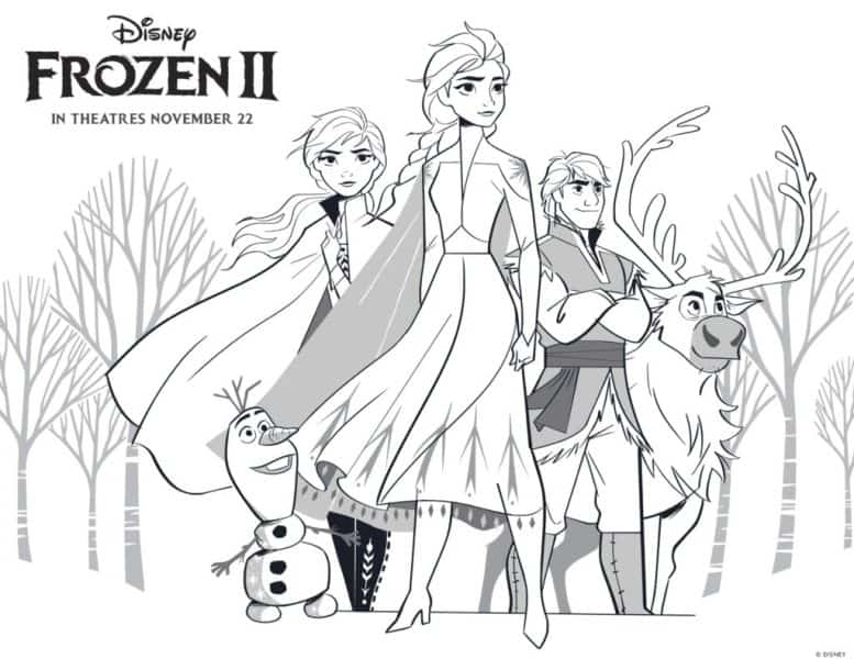- Free FROZEN 2 Printable Coloring Pages And Activities