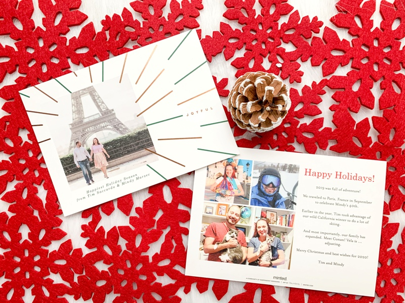 Our Joyful Holiday Cards for 2019