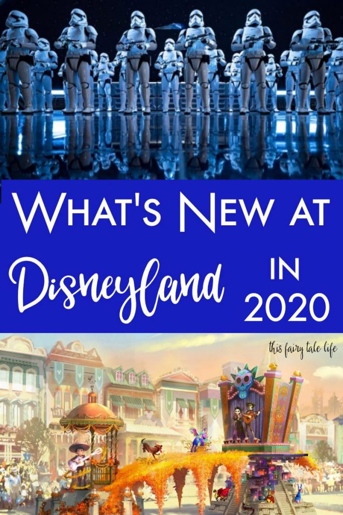 Here's What's New at Disneyland in 2020!