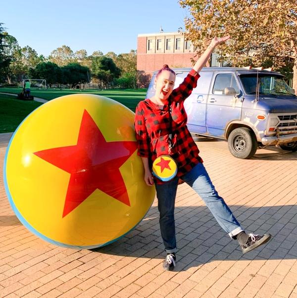 Lifestyle Blogger Mindy Marzec of This Fairy Tale Life visits Pixar Studios