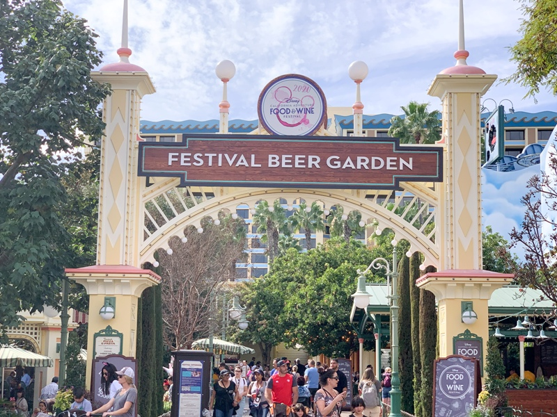 2020 Disney California Adventure Food and Wine Festival Guide