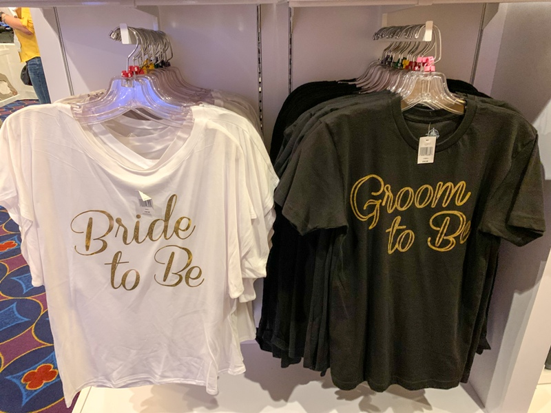 Bride to be and Groom to be shirts