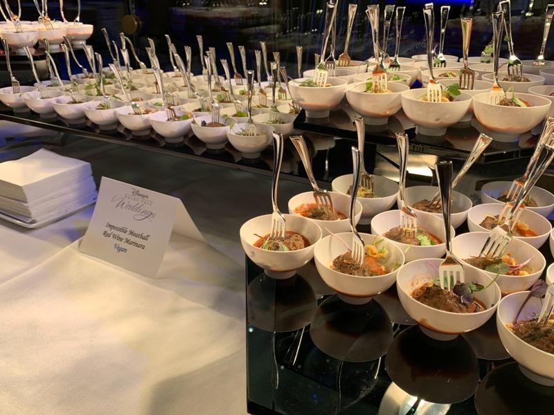 Impossible Meatballs at Disneyland weddings showcase