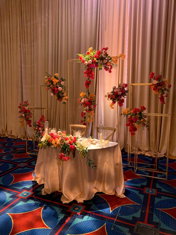 Disneyland Hotel Wedding Magic Kingdom Ballroom