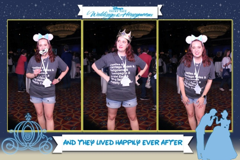 Disneyland wedding showcase Magic Mirror Photo Booth