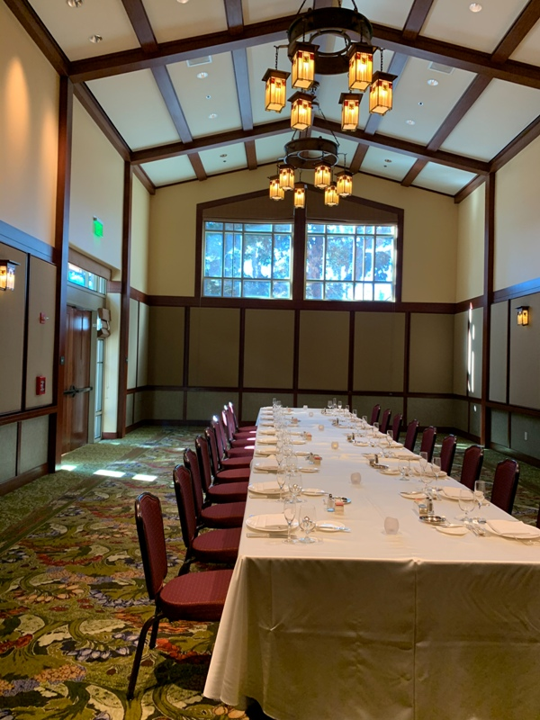 Disney's Grand Californian Hotel Wisteria Ballroom Wedding