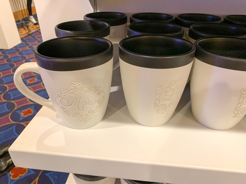 Disney wedding mugs