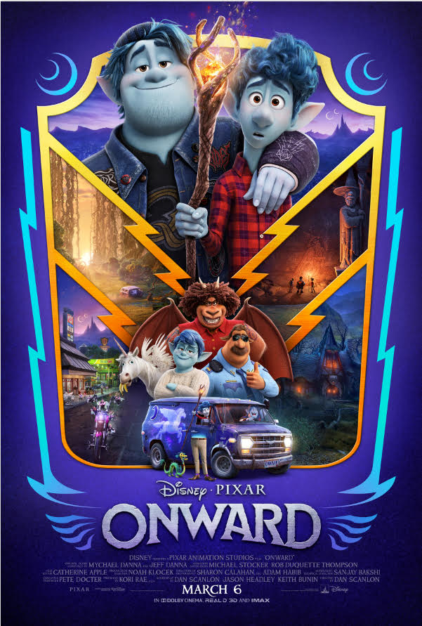 Disney/Pixar Brings the Magic with ONWARD (Movie Review)
