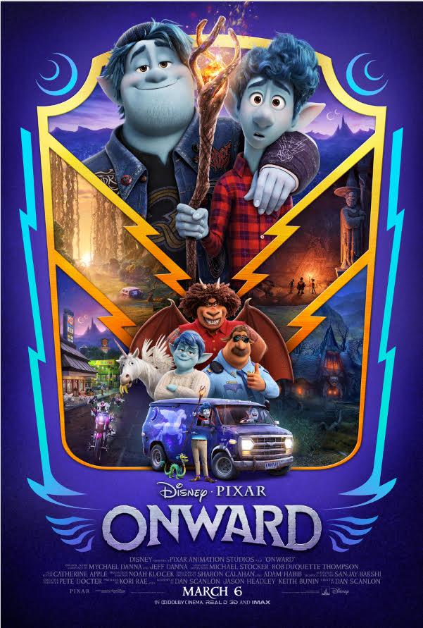 Disney/Pixar Brings the Magic with ONWARD (Movie Review)