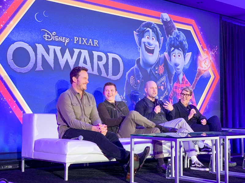 Interviews with the Creators and Cast of ONWARD