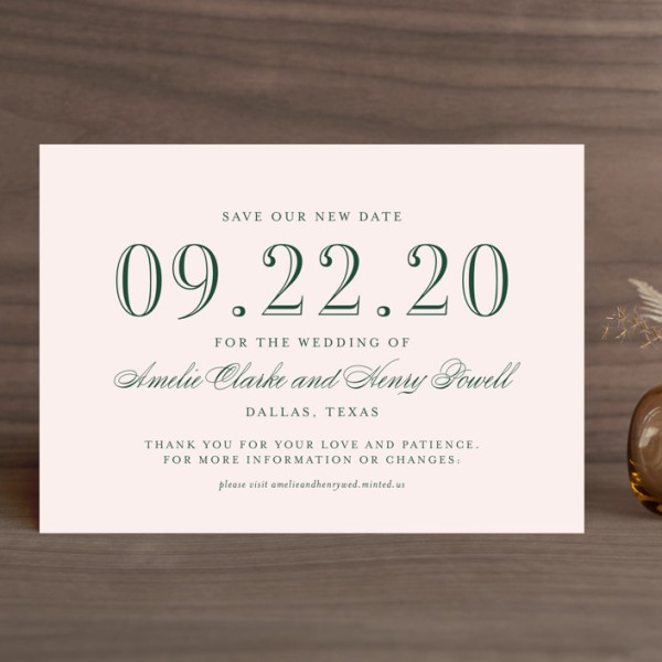 "Where to Order ""Change the Date"" Wedding Announcements"