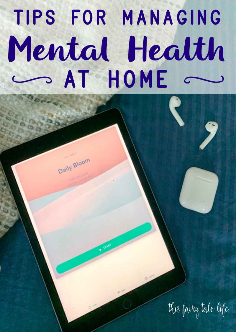 Tips for Managing Mental Health at Home