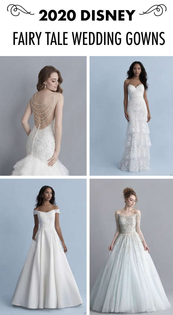 The 2020 Disney Fairy Tale Wedding Gowns by Allure Bridals