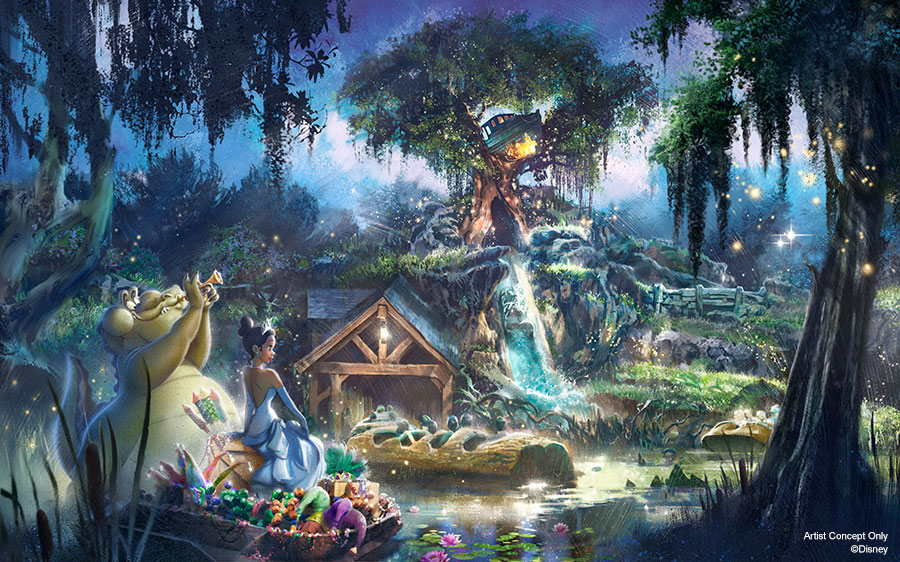 """5 Things to Know About """"The Princess and the Frog"""" Reimagining for Splash Mountain"""