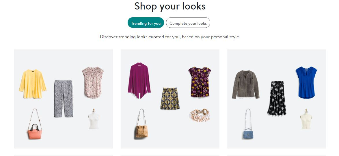 Stitch Fix Shop Page Screenshot