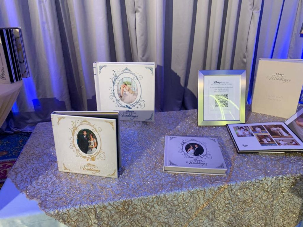 Collection of wedding photo albums