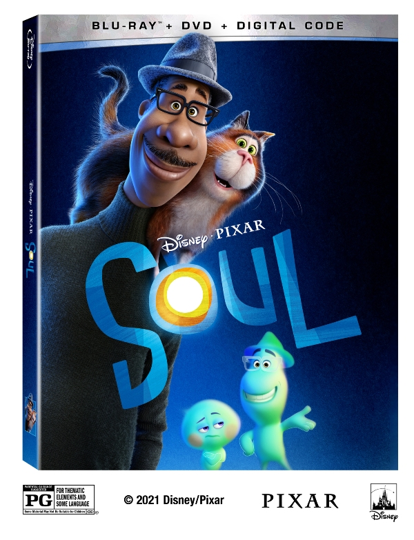 SOUL blu-ray cover image