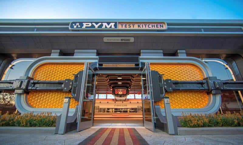 Exterior of Pym Test Kitchen
