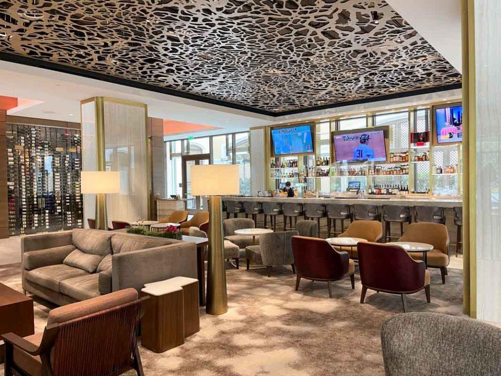 Interior of Westin Anaheim Bar 1030